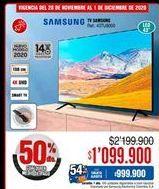 Oferta de Smart tv Samsung por $1099900