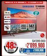 Oferta de Smart tv Samsung por $2099900