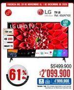 Oferta de Smart tv LG por $2099900