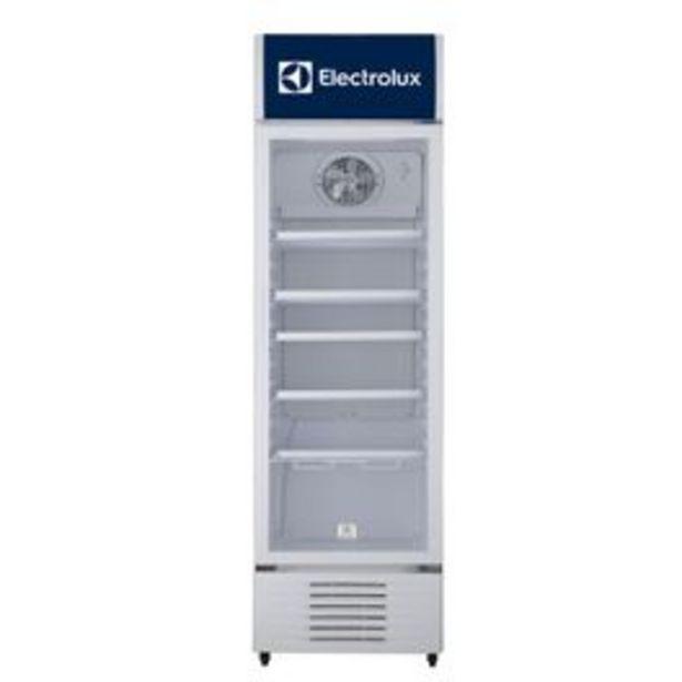 Oferta de Vitrina Exhibidora Electrolux ERH34T3KQW Blanco 342L por $2459900