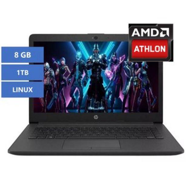 Oferta de Portátil HP 245 g7 AMD 3020e 8Gb 1Tb Linux por $1339900