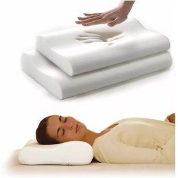 Oferta de Almohada Memory Pillow Ortopédica Indeformable Con Aloe Vera por $38224