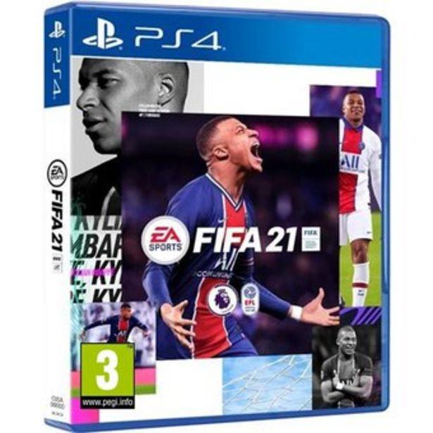 Oferta de Juego Ps4 Fifa 21. Ed. Standar + Regalo por $154900