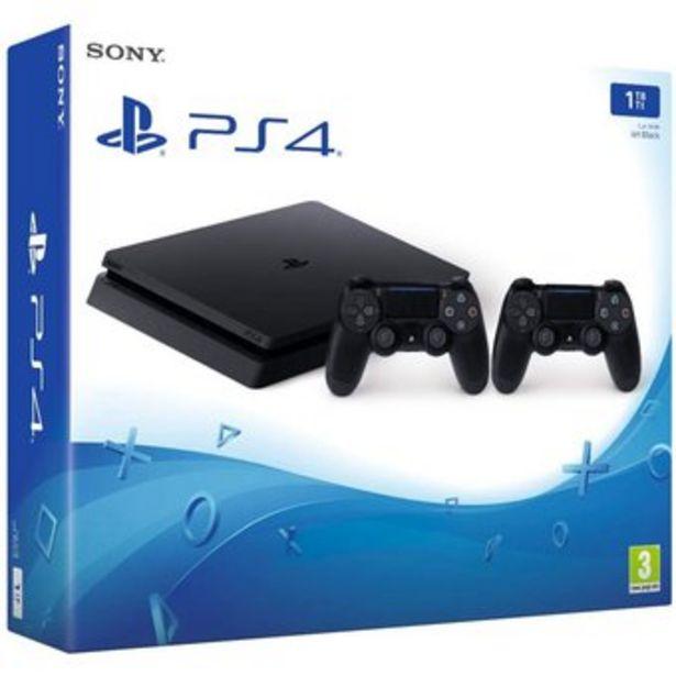 Oferta de Consola Playstation 4 Slim 1Tera Dos Controles Ps4 Slim 1TB por $1729000