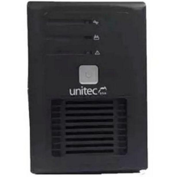 Oferta de U-850 UPS UNITEC 850VA PROTECCIÓN PARA TUS EQUIPOS por $155100
