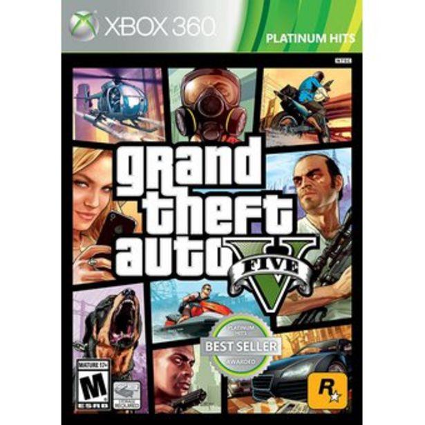 Oferta de Grand Theft Auto V - Xbox 360 por $189990