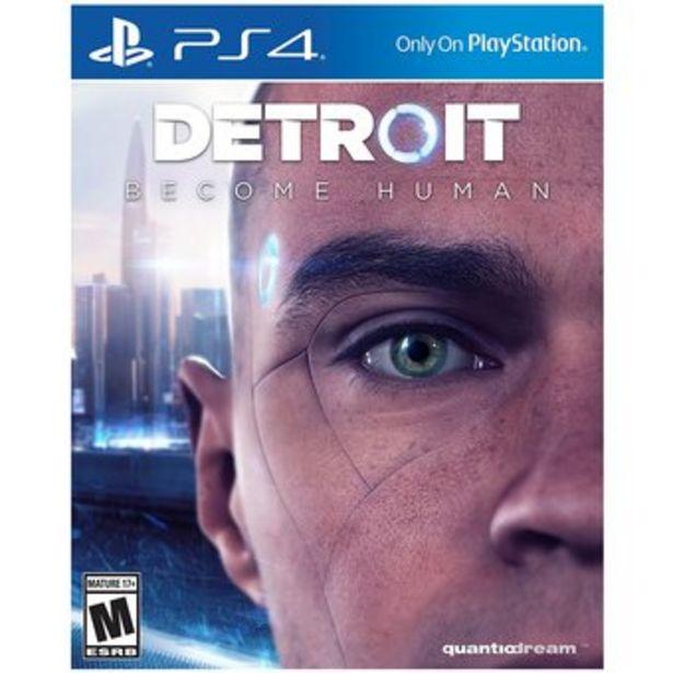 Oferta de Detroit Become Human - PlayStation 4 por $204990