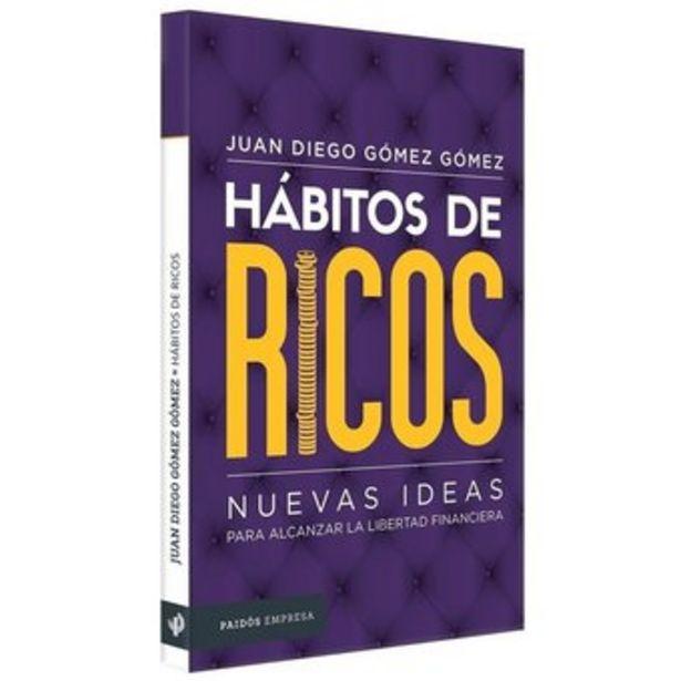 Oferta de Libro Habitos de Ricos 196paginas motivacion liderazgo por $41990