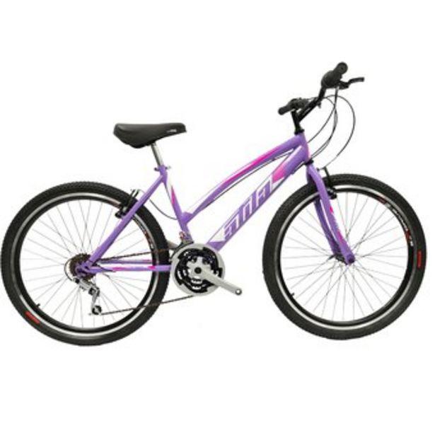 Oferta de Bicicleta Todo Terreno Dama Atila Rin 26 D/pared Violeta, 18 cambios por $389990
