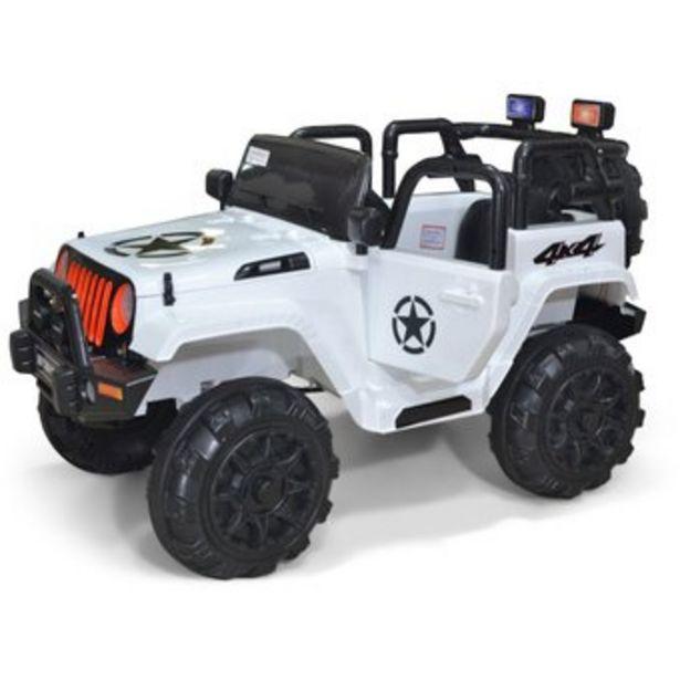 Oferta de Camioneta Eléctrica Para Niños Tipo Jeep Montable 4x4 3 a 7 años por $799900