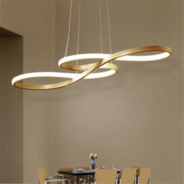 Oferta de LED de la lámpara del techo del comedor del restaurante Luz de acrílico pendiente de la luz de la lámpara - De oro blanco por $336900