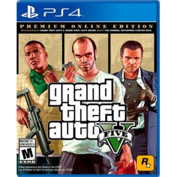 Oferta de Grand Theft Auto 5 GTA 5 Premium Edition PS4 Nuevo Fisico Español por $109000