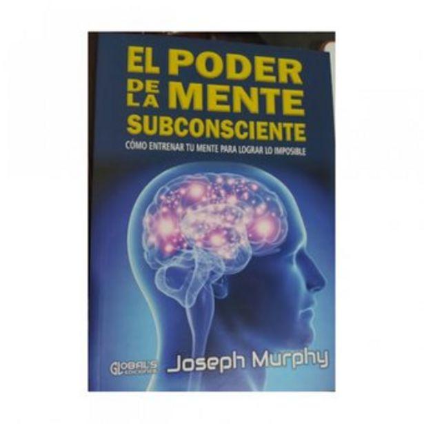 Oferta de El Poder De La Mente Subconsciente por Joseph Murphy Editorial Global Ediciones Libro Original por $25999