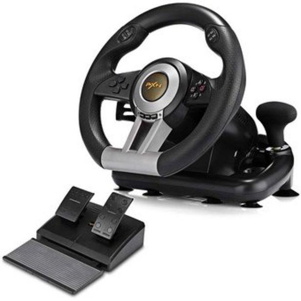 Oferta de Timon Volante Carreras Pxn V3 Pro Ps3 Ps4 Pc Xbox One Switch por $399900