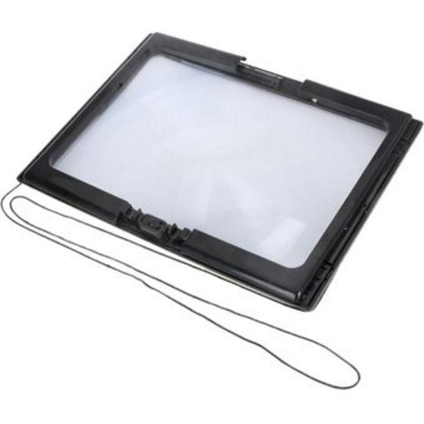 Oferta de Lupa de Lectura 3x Lupa Plegable con Luz LED Libro de Escritorio por $125280