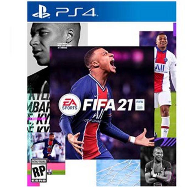 Oferta de Juego FIFA 21 - PlayStation 4 Edición Standard PREVENTA por $324505
