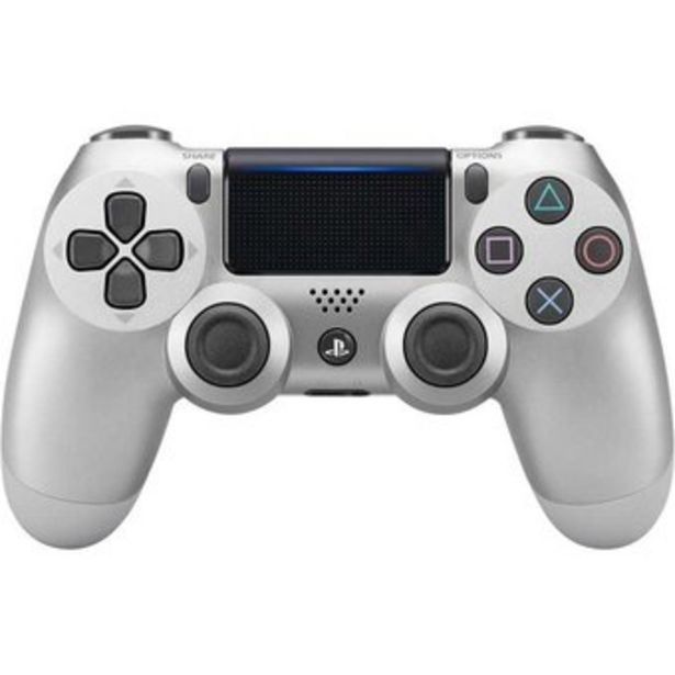 Oferta de Control Playstation 4 Ps4 Generico DualShock Led Tactil Recargable Plateado por $88200