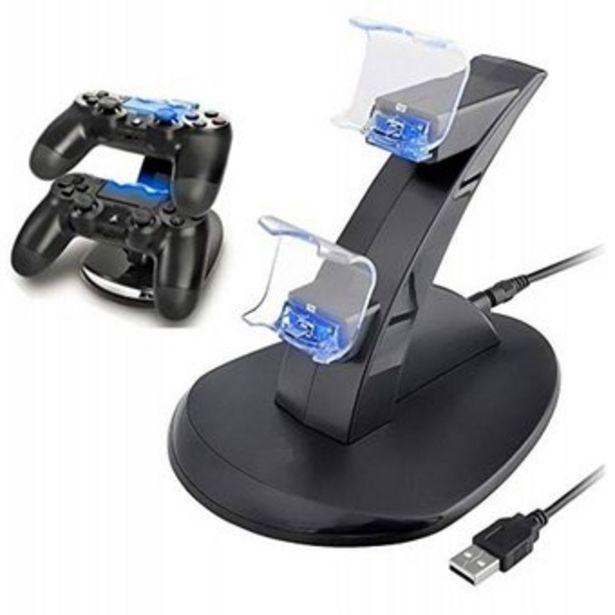 Oferta de Cargador de controles IHK para PS4 Slim PS4 Carga y Juega play 4 por $22900