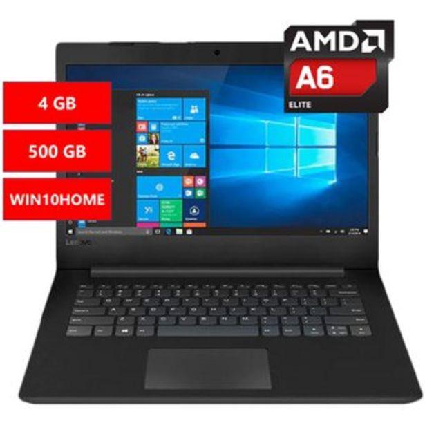 Oferta de Portátil Lenovo V145 A6-9225 4Gb 500Gb Win10Home por $1299900