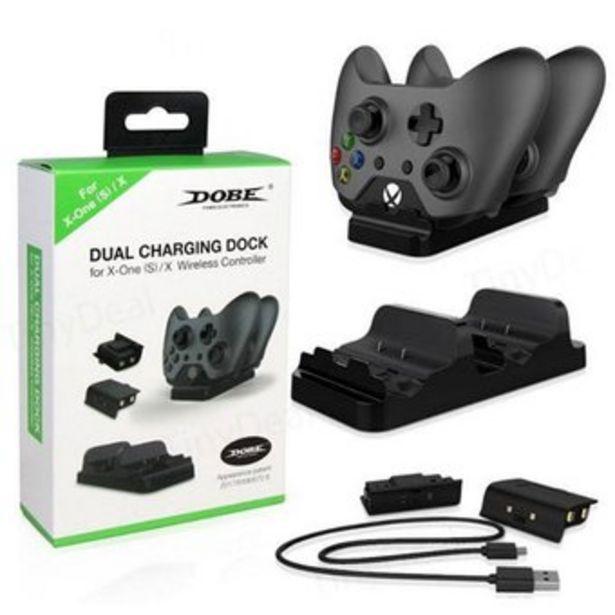 Oferta de Base Cargadora Dos Puertos Xbox One por $55900