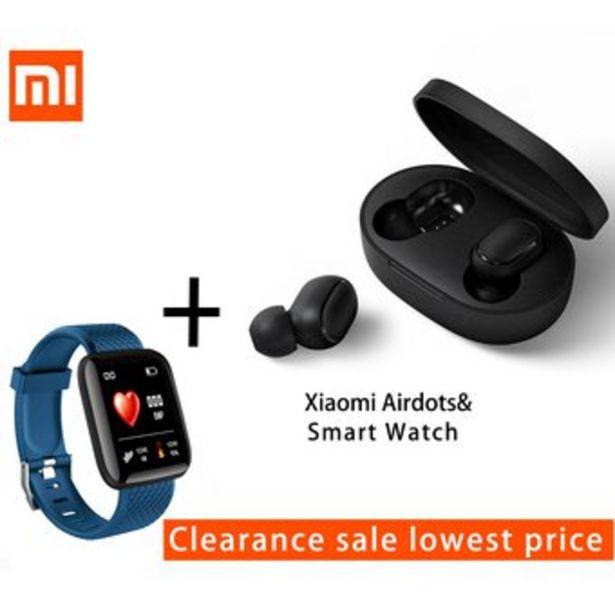 Oferta de Xiaomi Airdots Auriculares Inalámbricos Con Pulsera InteligenteI por $109900