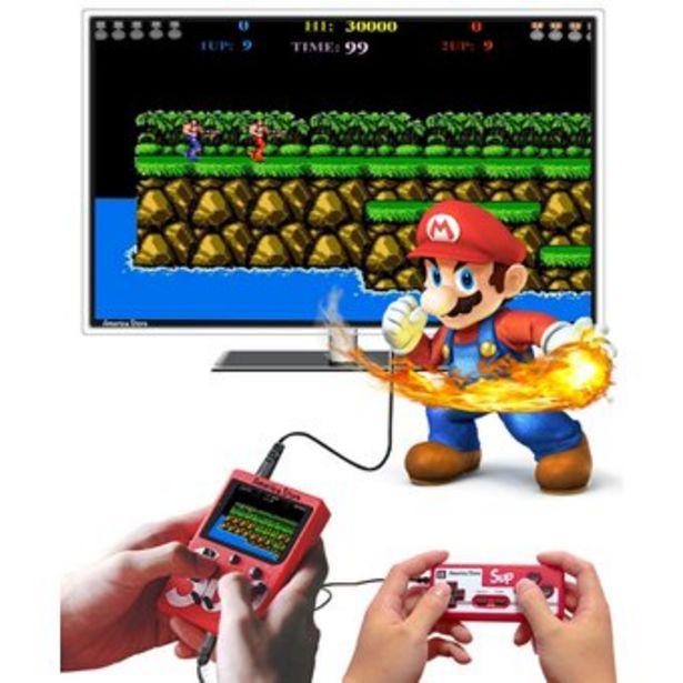 Oferta de Consola Multijuegos Retro Portatil 400 Juegos + Control Jugador 2 por $52000