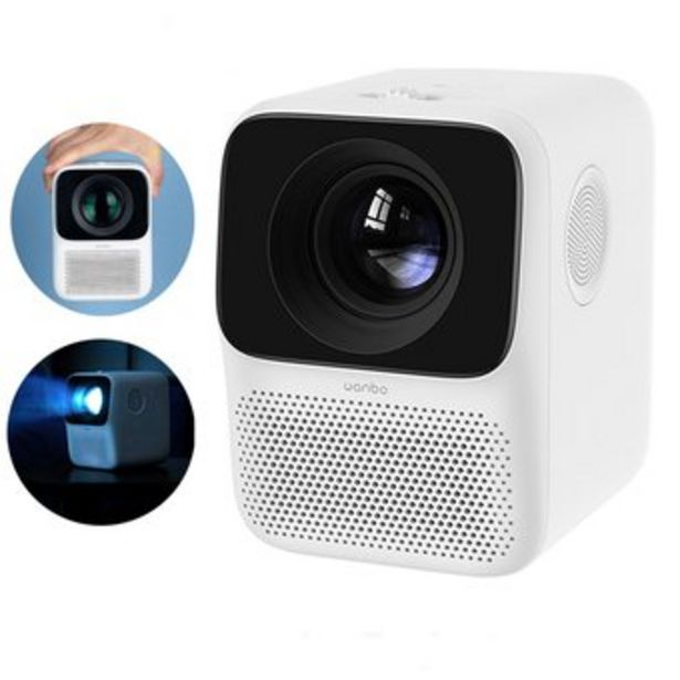 Oferta de Proyector LED T2 Free 1920x1080 de 150 lúmenes Ultra HD por $555900