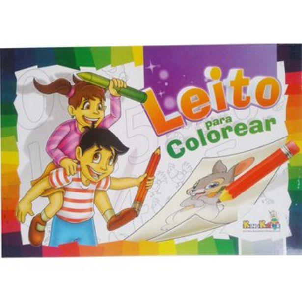 Oferta de Cartilla Leito Colorea para niños por $7000