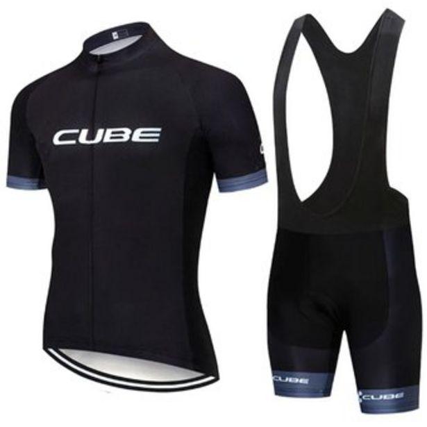 Oferta de Conjunto de pantalones cortos transpirables estilo jersey de ciclismo por $104900