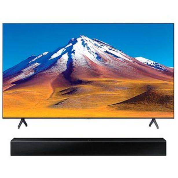 Oferta de Televisor Samsung Un43tu6900kxzl  Hwt400zl por $1549900