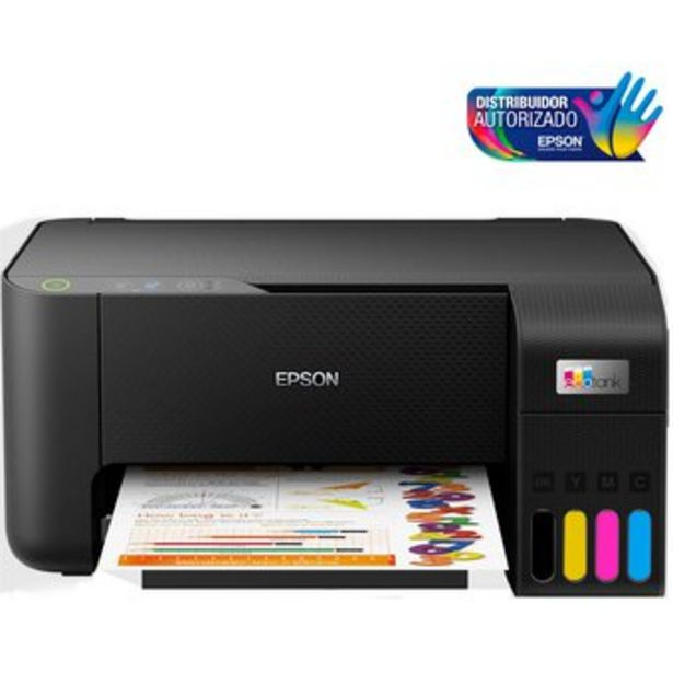 Oferta de Impresora Multifuncional 3 en 1 Epson L3210 Fotocopia Escaner Inyeccion de Tinta por $584900