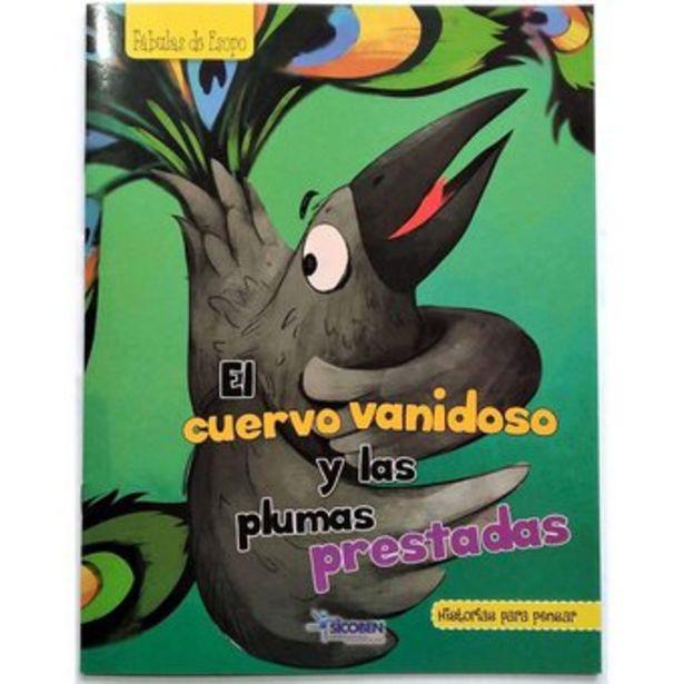 Oferta de Libro Infantil Para Pensar Sicoben - El Cuervo Vanidoso por $16000