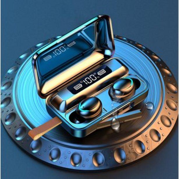 Oferta de Audifonos Bluetooth Tactiles Inalambricos Led Power Bank Tapa por $59900