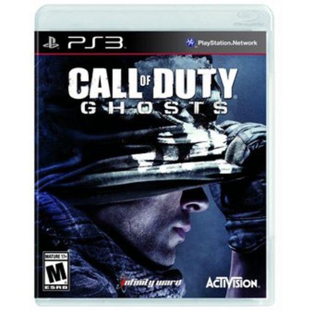 Oferta de CALL OF DUTY GHOSTS - Videojuego PS3 por $129990