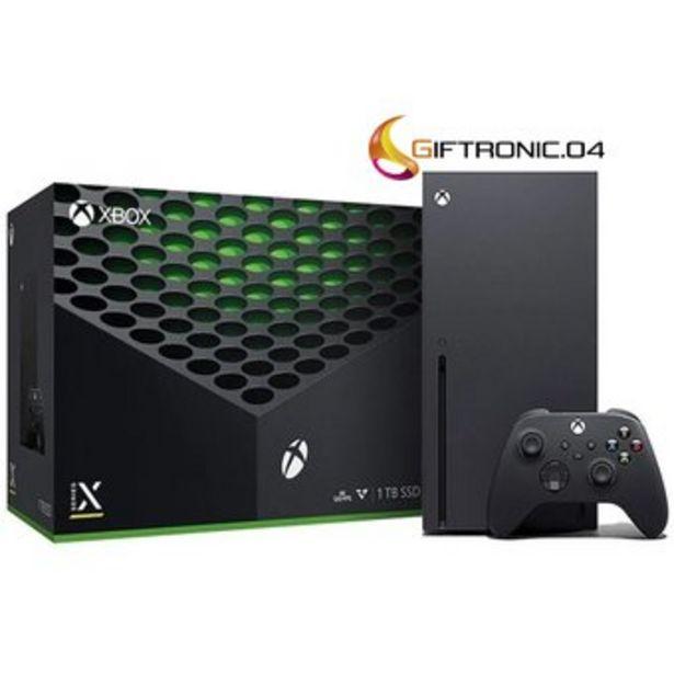 Oferta de Microsoft Xbox Series X 1tb Standard Color Negro por $3099900