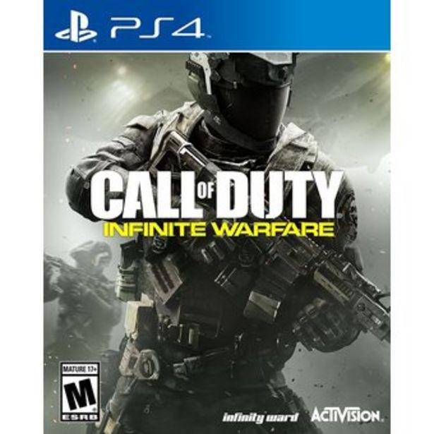 Oferta de Juego Call Of Duty Infinite Warfare Ps4 Nuevo Sellado por $59000