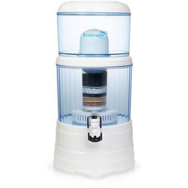 Oferta de Filtro Purificador De Agua Ecotrade Bioenergetico Filters 14 Litros por $104900