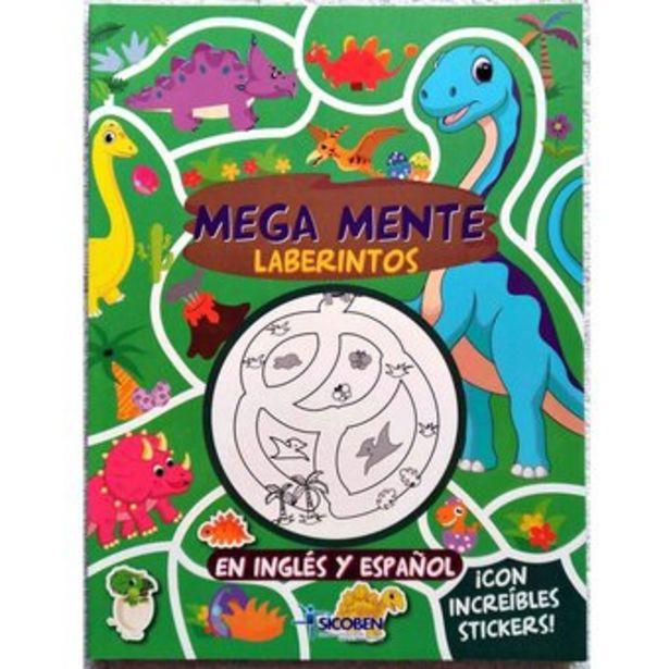 Oferta de Libro Infantil Colorear Y Stickers Sicoben- Laberintos - A Y A por $21000