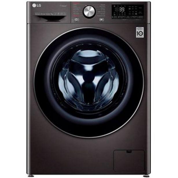 Oferta de Lavadora Secadora LG Eléctrica 12 kg WD12BVC2S6C.ABL por $2664900