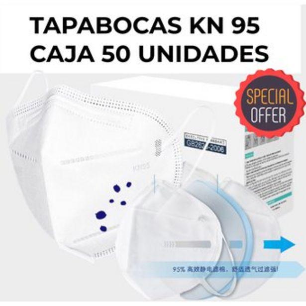 Oferta de Tapabocas KN 95 CAJA 50 UNIDADES importado N95 KN95 N95 por $95000
