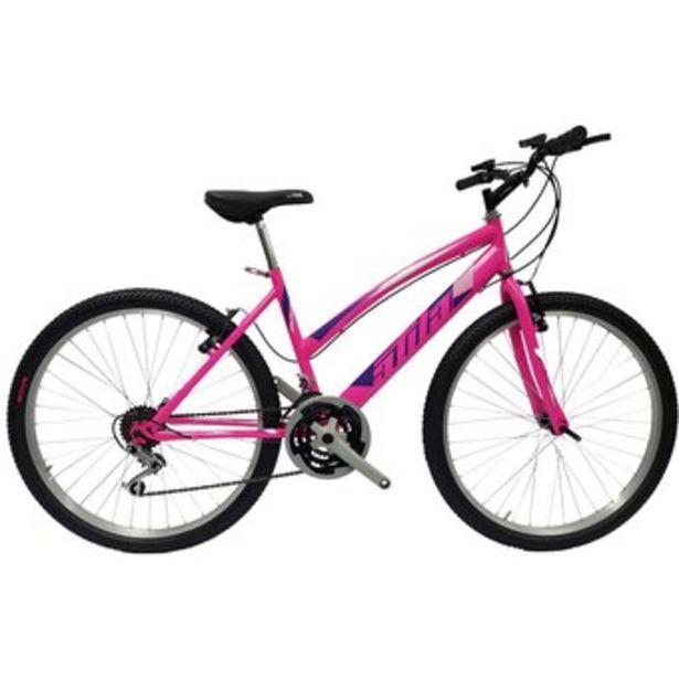 Oferta de Bicicleta Todoterreno Atila Rin 26 Aro sencillo, Rosado 18 cambios por $369990