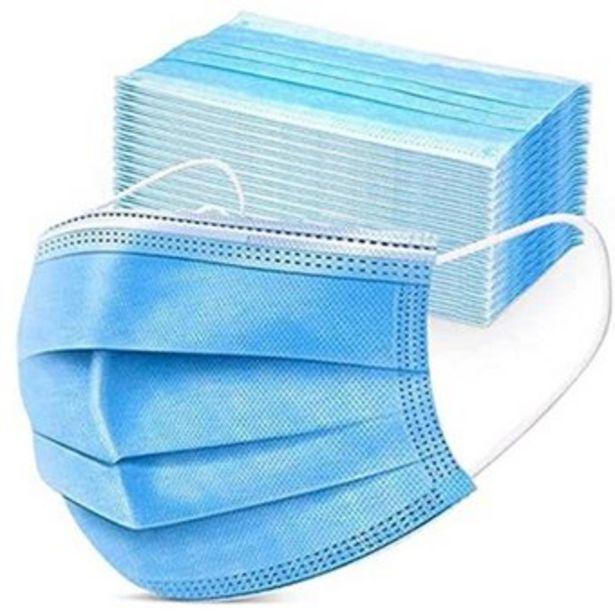 Oferta de Tapabocas tres capas termosellado alta filtración RIUFA- 50 unidades por $13700