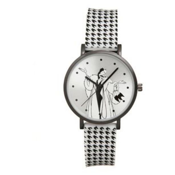 Oferta de Reloj Infantil Disney CruellaNiñas por $29990