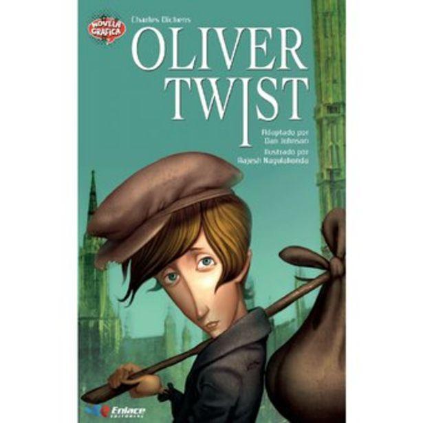 Oferta de Novela Gráfica Enlace Editorial Oliver Twist por $22900