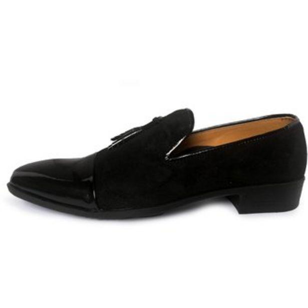Oferta de Zapatos Loafer Livorno OutFit Negro por $65100