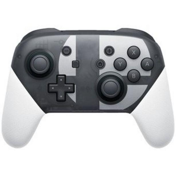 Oferta de Control Pro Controller Nintendo Switch Super Smash OEM por $190944