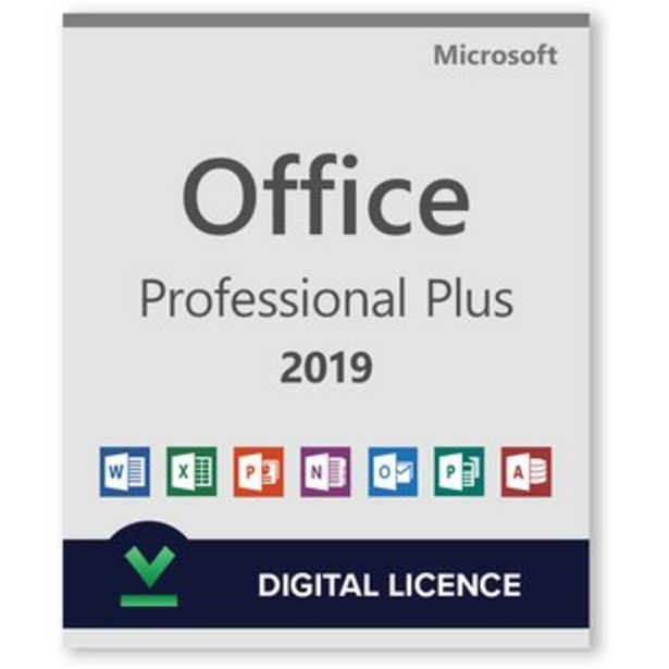 Oferta de Office Professional Plus 2019 ESD (digital) por $79990