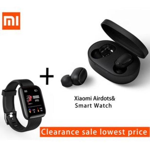 Oferta de Audifonos inalambricos Xiaomi airdots con banda inteligente por $129900