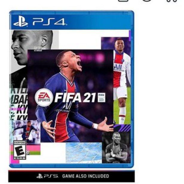Oferta de Videojuego Fifa 21 PS4 por $89900