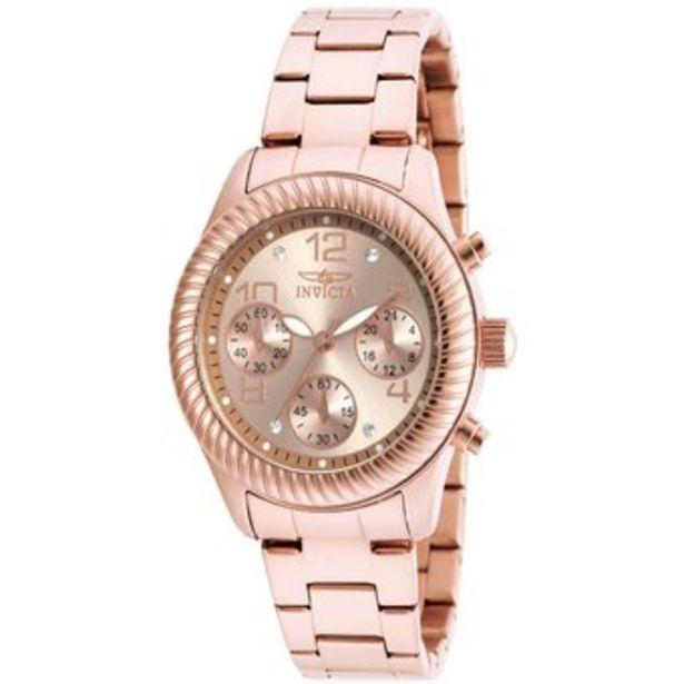 Oferta de Reloj Invicta Angel 20267 Oro rosa por $459900